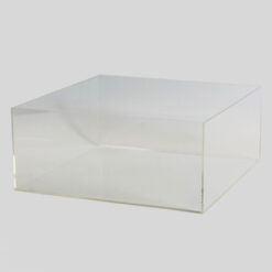 Caja de metacrilato rectangular
